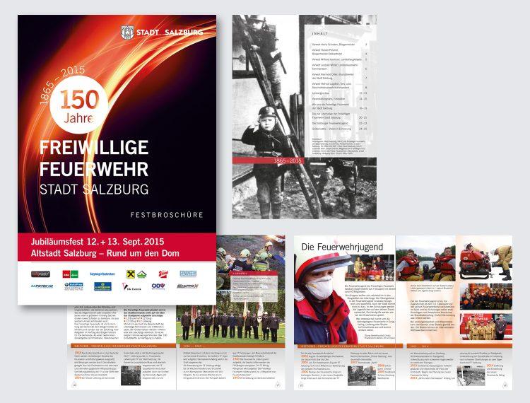Broschüre 150 Jahre FFW Salzburg