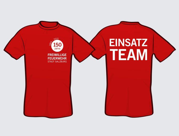 T-Shirts 150 Jahre FFW Salzburg