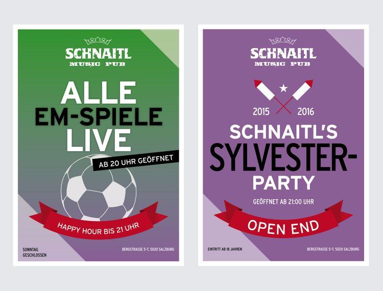 Plakat & Flyer Schnaitl Pub