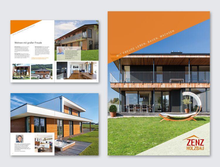 Prospekt Zenz Holzbau