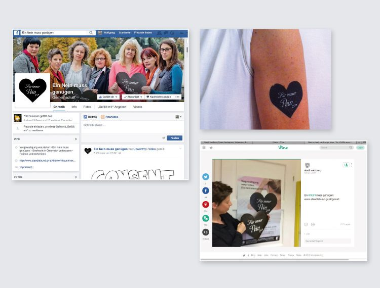 Social Media Action: Facebook, Vine