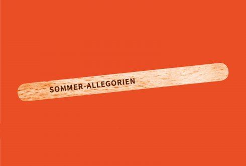 Ausstellungsplakat Sommerallegorien