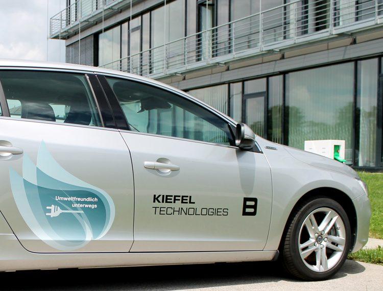 KIEFEL Fahrzeug Branding